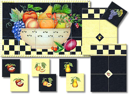 Checkers Kitchen Tile